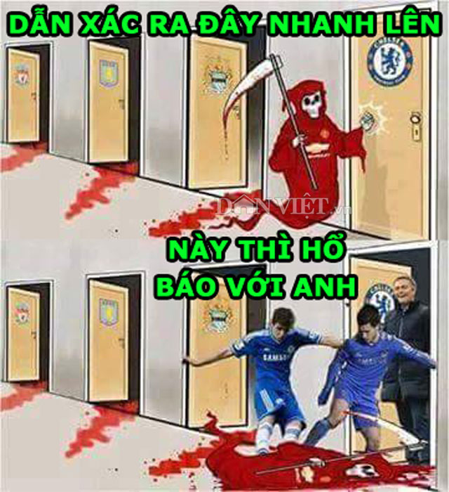 anh che: m.u hien nguyen hinh truoc mourinho hinh anh 4
