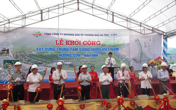xay dung trung tam giong huou lon nhat viet nam hinh anh 1
