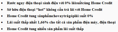vay tra gop 0% lai suat cung home credit hinh anh 1