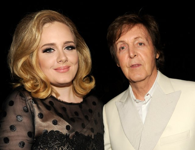 paul mccartney va adele lam tien nhat nuoc anh hinh anh 1