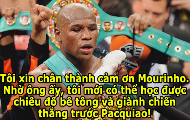 "mayweather bi che nhao vi dung chieu ""dung xe bus"" cua chelsea hinh anh 4"