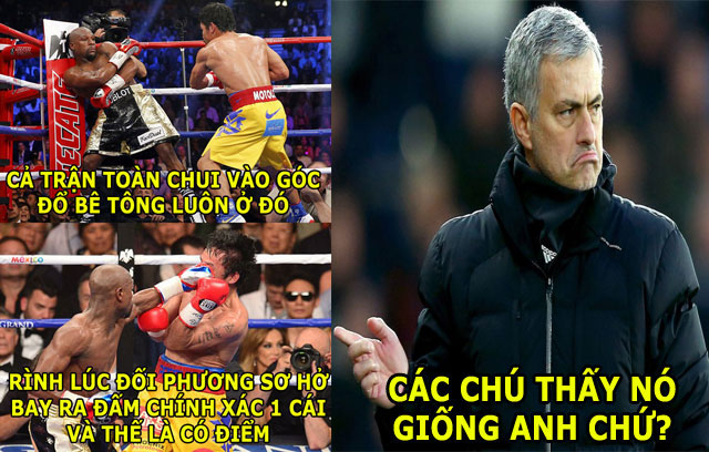 "mayweather bi che nhao vi dung chieu ""dung xe bus"" cua chelsea hinh anh 1"