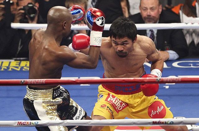 "mayweather: ""pacquiao hen nhat, chi gioi nguy bien cho that bai"" hinh anh 1"