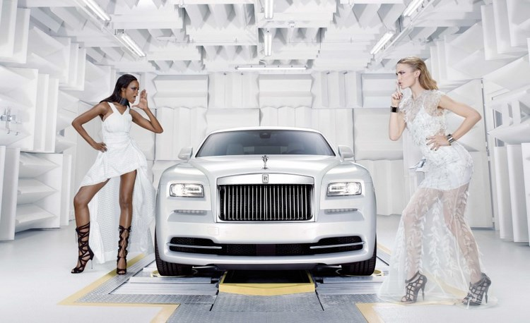 me man voi xe sang rolls-royce wraith tien ty hinh anh 1