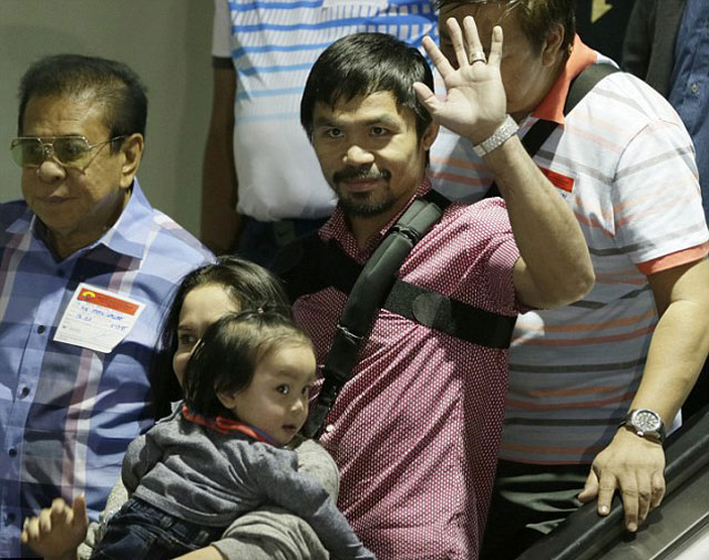 nguoi dan philippines nong nhiet chao don pacquiao tro ve hinh anh 1