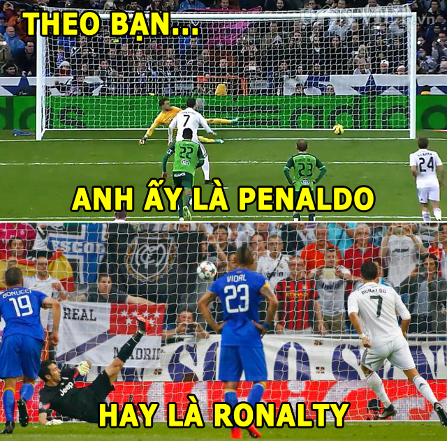 anh che: ronaldo chi xuat hien khi co penalty, juventus vo dich champions league hinh anh 3