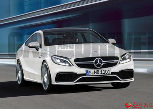 lo xe the thao mercedes-benz amg c63 coupe the he moi hinh anh 1
