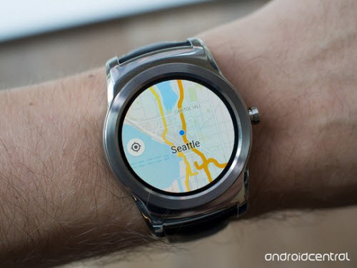 google maps xuat hien tren android wear hinh anh 1