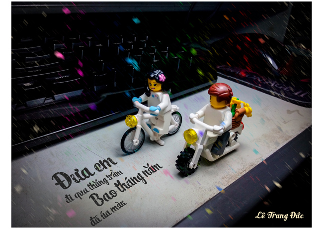 doc dao voi bo anh lego day cam xuc hinh anh 2