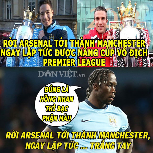 """anh che: """"nguoi cu"""" m.u khoe chien tich, """"thanh"""" bendtner qua tai hinh anh 2"""