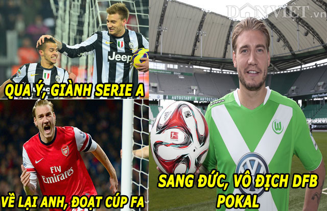 "anh che: ""nguoi cu"" m.u khoe chien tich, ""thanh"" bendtner qua tai hinh anh 5"