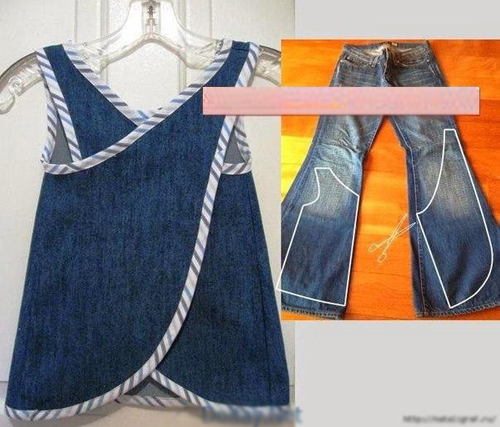 "1001 cach ""tai che"" quan jeans cu hinh anh 14"