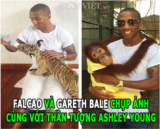 anh che: ashley young be gareth bale, messi gieu neymar hinh anh 1