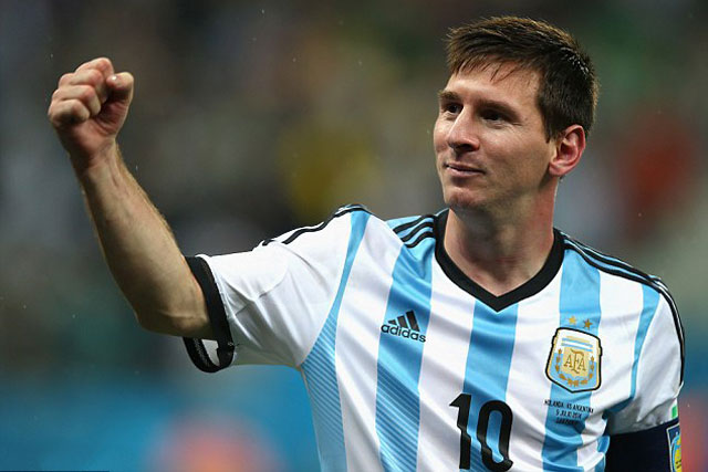 messi lap ky luc dac biet trong mau ao dt argentina hinh anh 2