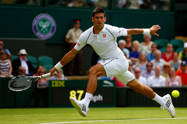 "wimbledon 2015: djokovic, serena williams ""mo hang"" suon se hinh anh 1"
