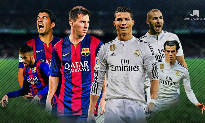 xem truc tiep barcelona vs real madrid hinh anh 1