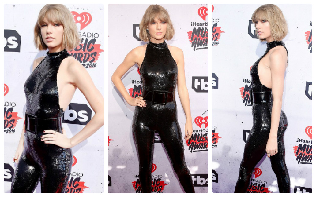 taylor swift mac dep nhat le trao giai iheartradio 2016 hinh anh 2