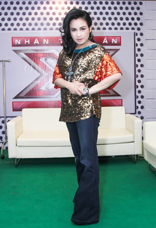 ho quynh huong hoa quy co goi cam tai x-factor hinh anh 7
