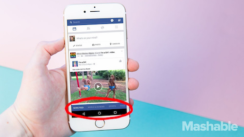 facebook sap thay doi giao dien di dong lon nhat lich su hinh anh 1