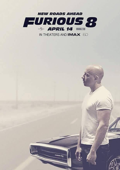 "vin diesel co don trong ""fast 8"" vi thieu paul walker hinh anh 1"