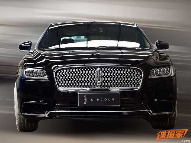 ngam lincoln continental presidential  2017 danh cho trung quoc hinh anh 2