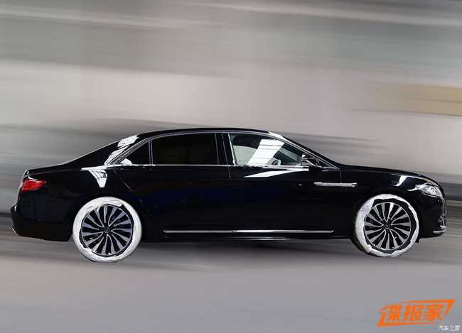 ngam lincoln continental presidential  2017 danh cho trung quoc hinh anh 3