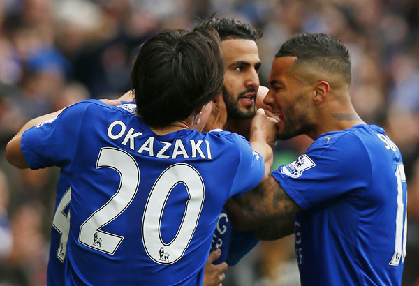 leicester thang bon sao, cham tay vao cup vo dich premier league hinh anh 1