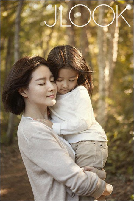 "fan ""phat sot"" voi loat anh cua 3 me con lee young ae hinh anh 12"
