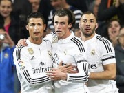 "The thao - Chay nuoc rut, Real Madrid gay ""dinh ba"" BBC?"