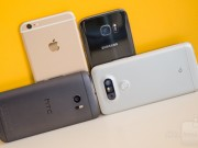 Cong nghe - do camera HTC 10, iPhone 6s Plus, Galaxy S6 va LG G5