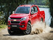 o to - Xe may - Chi tiet xe Chevrolet Colorado 2016 sap ve Viet Nam