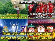 "The thao - HaU TRuoNG (6.5): Arsenal the tham vi da dep, Liverpool ""can"" ca La Liga"