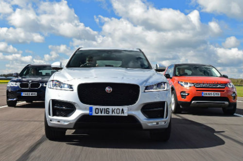 so ke jaguar f-pace, land rover discovery sport va bmw x3 hinh anh 3