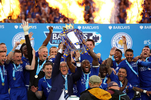 chum anh leicester vo oa trong ngay dang quang o premier league hinh anh 2