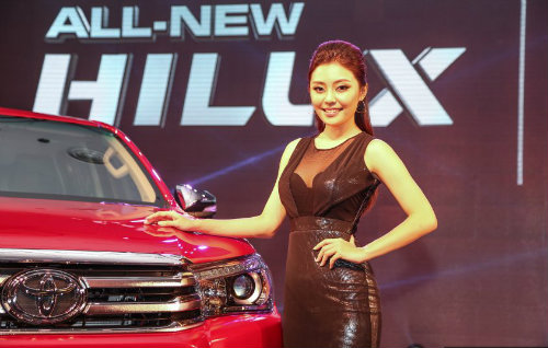 toyota hilux 2016 ra mat o malaysia, gia re hon vn hinh anh 1
