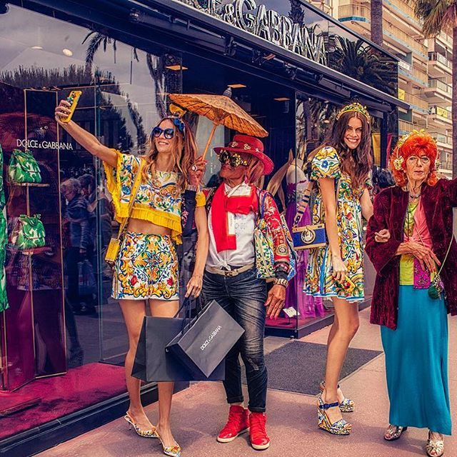 dolce & gabbana goi y tuyet chieu toa sang tai cannes hinh anh 9