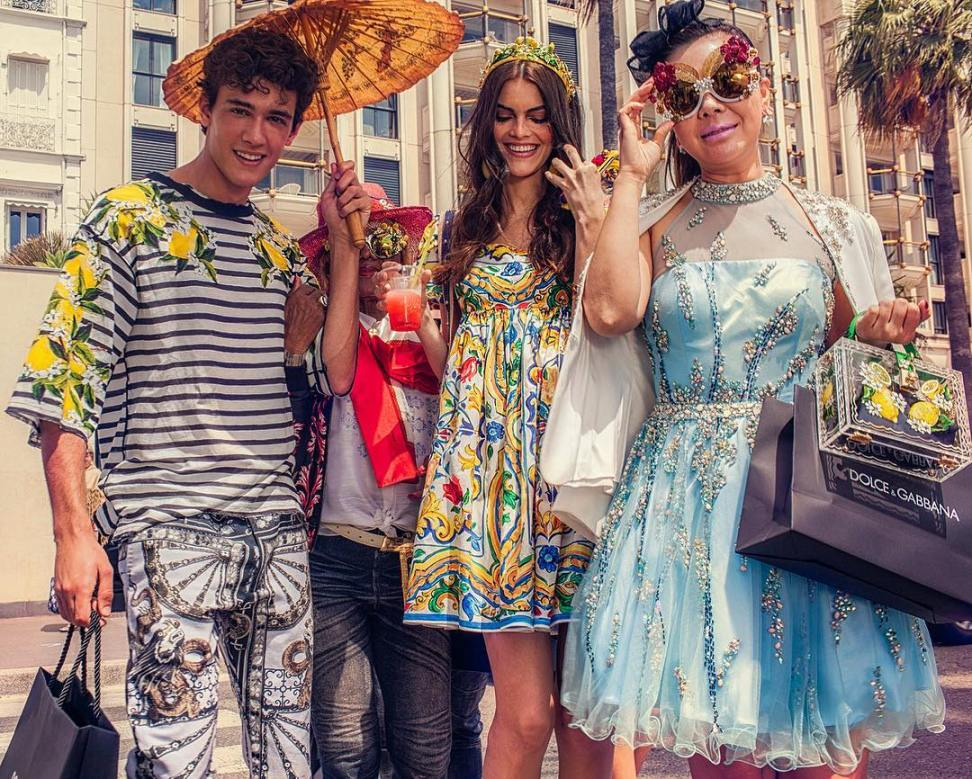 dolce & gabbana goi y tuyet chieu toa sang tai cannes hinh anh 7