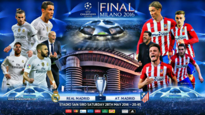 cap nhat thong tin tran real madrid vs atletico madrid hinh anh 1