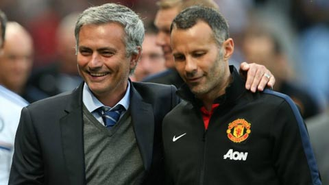 ryan giggs gap mourinho de quyet tuong lai hinh anh 1