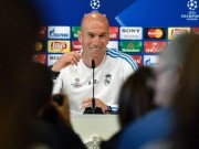 The thao - Giup Real vo dich Champions League, HLV Zidane van lo mat viec
