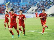 The thao - Nhung khung hinh an tuong tran dT Viet Nam thang Syria 2-0