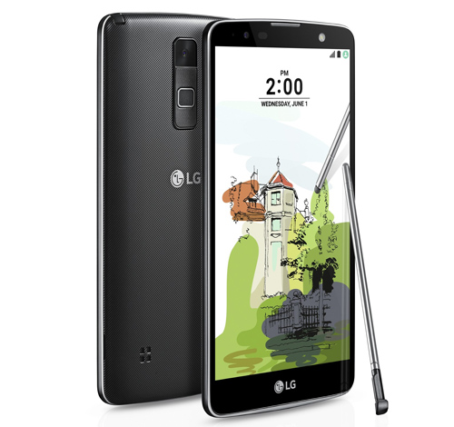 "lg stylus 2 plus: smartphone tam trung co man hinh ""khung"" hinh anh 1"