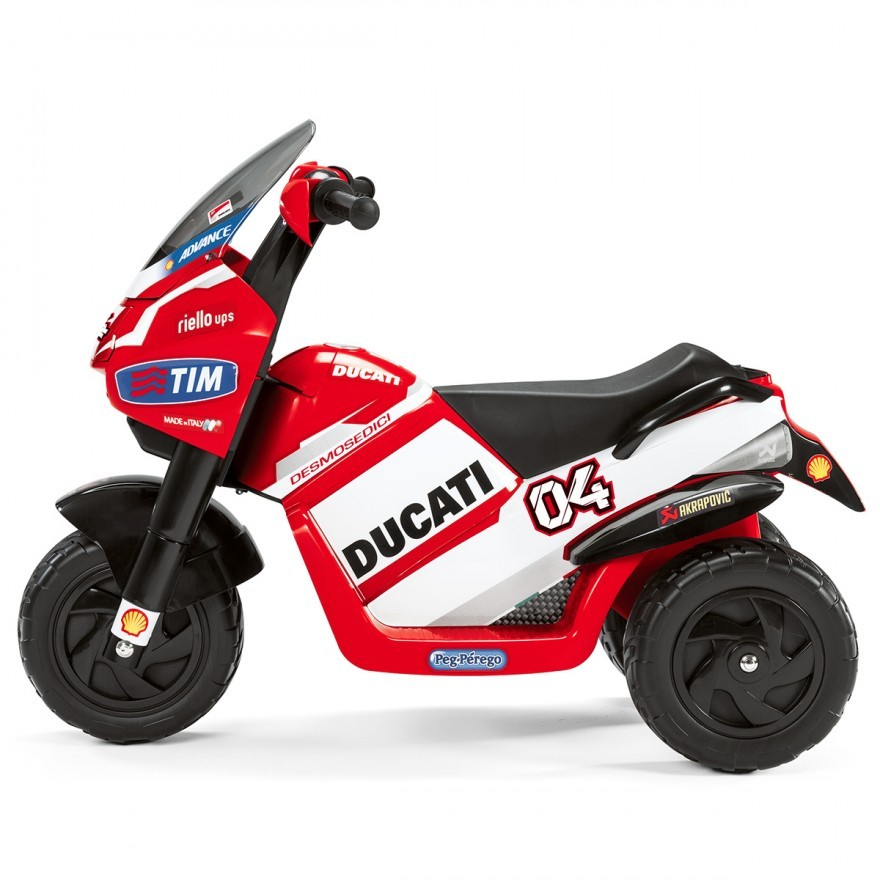ducati tung 4 mau mo to dien danh cho tre dam me toc do hinh anh 5