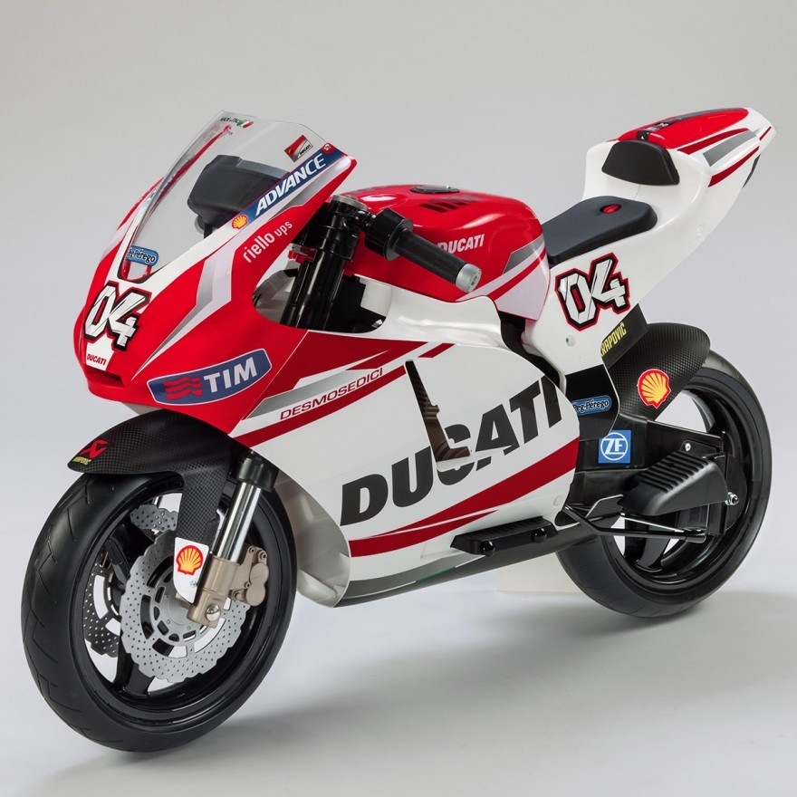 ducati tung 4 mau mo to dien danh cho tre dam me toc do hinh anh 7