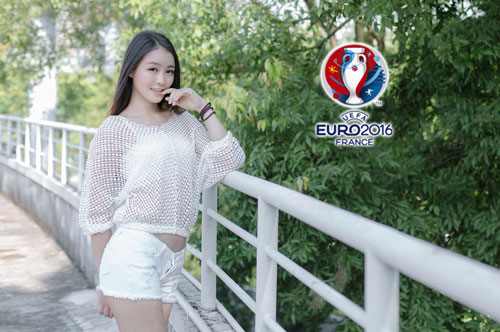 hot girl trung quoc ung ho dt phap vo dich euro 2016 hinh anh 12