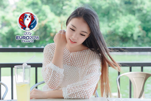 hot girl trung quoc ung ho dt phap vo dich euro 2016 hinh anh 13