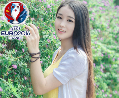 hot girl trung quoc ung ho dt phap vo dich euro 2016 hinh anh 14