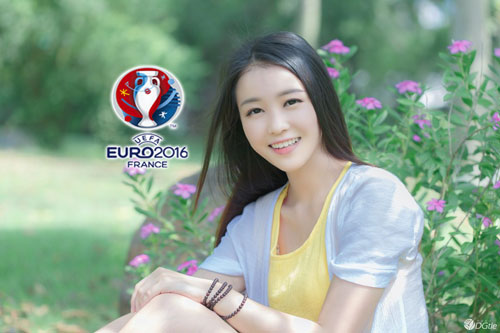 hot girl trung quoc ung ho dt phap vo dich euro 2016 hinh anh 6