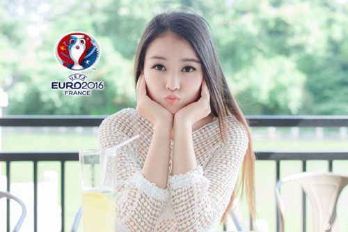 hot girl trung quoc ung ho dt phap vo dich euro 2016 hinh anh 7