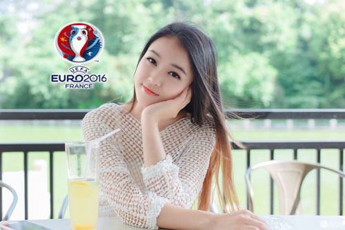 hot girl trung quoc ung ho dt phap vo dich euro 2016 hinh anh 8